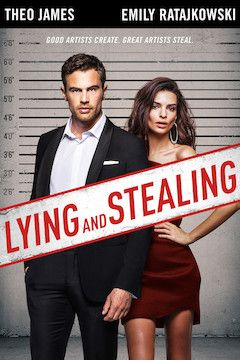 Lying and Stealing movie poster.
