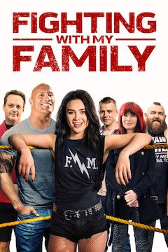 Fighting With My Family movie poster.