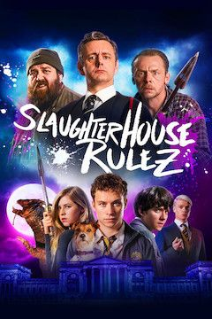 Slaughterhouse Rulez movie poster.