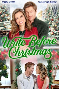 Write Before Christmas movie poster.