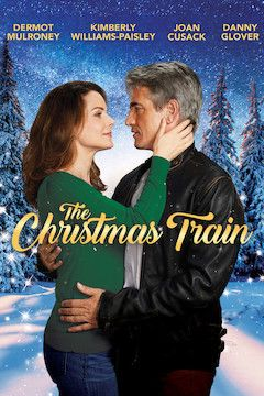 Poster for the movie The Christmas Train