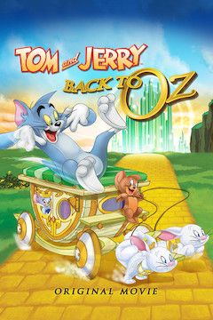Tom and Jerry Back to Oz movie poster.