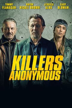Poster for the movie Killers Anonymous