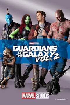 Poster for the movie Guardians of the Galaxy Vol. 2