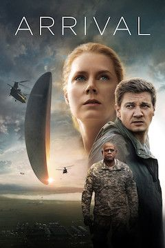 Arrival movie poster.