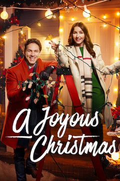 A Joyous Christmas movie poster.