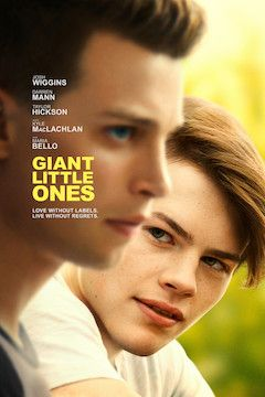 Giant Little Ones movie poster.