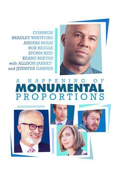 A Happening Of Monumental Proportions movie poster.