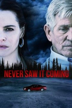Never Saw It Coming movie poster.