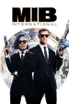 Men in Black: International movie poster.