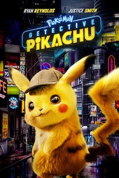 Pokémon Detective Pikachu movie poster.