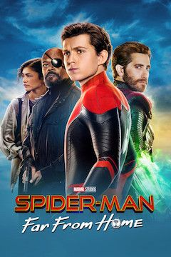 Spider-Man: Far From Home movie poster.