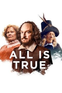 All Is True movie poster.