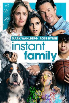 Instant Family movie poster.