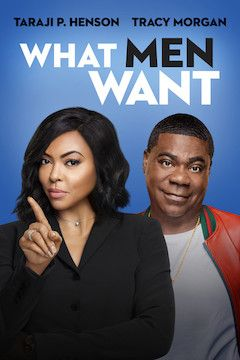 What Men Want movie poster.