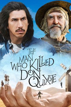 The Man Who Killed Don Quixote movie poster.