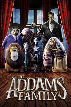 Poster for the movie The Addams Family