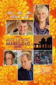 Poster for the movie The Best Exotic Marigold Hotel