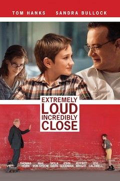 Extremely Loud and Incredibly Close movie poster.