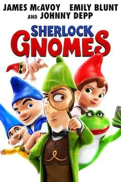Poster for the movie Sherlock Gnomes