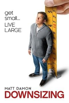 Downsizing movie poster.