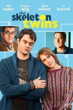 The Skeleton Twins movie poster.