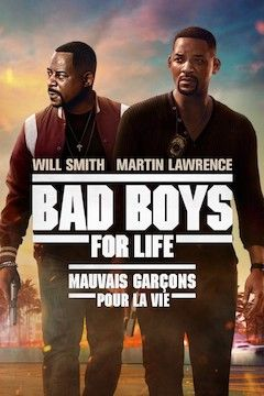 Bad Boys for Life movie poster.
