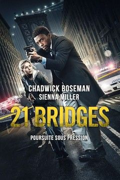 Poster for the movie 21 Bridges