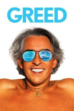 Greed movie poster.