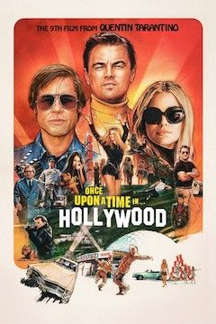 Once Upon A Time...In Hollywood movie poster.