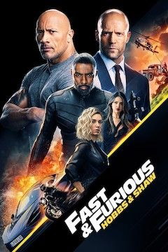 Fast & Furious Presents: Hobbs & Shaw movie poster.