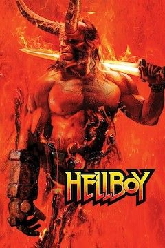 Hellboy movie poster.