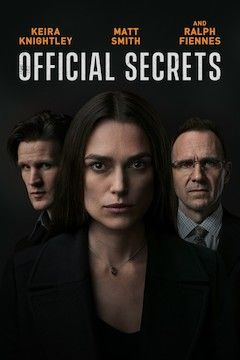 Official Secrets movie poster.