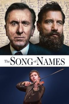 The Song of Names movie poster.