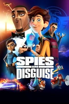 Spies in Disguise movie poster.