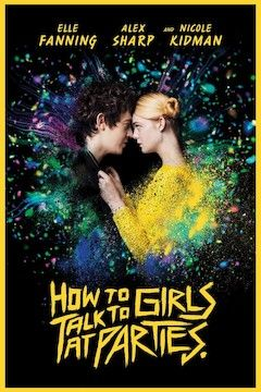 How to Talk to Girls at Parties movie poster.