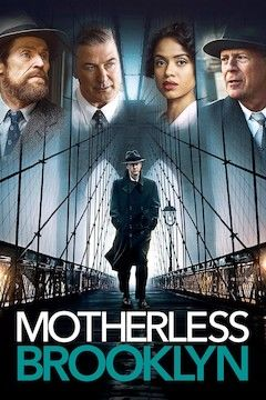 Motherless Brooklyn movie poster.