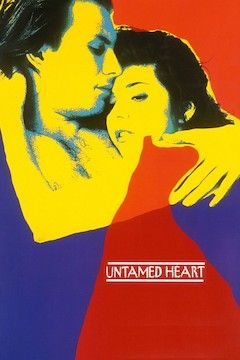 Untamed Heart movie poster.