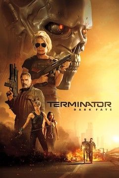 Terminator: Dark Fate movie poster.