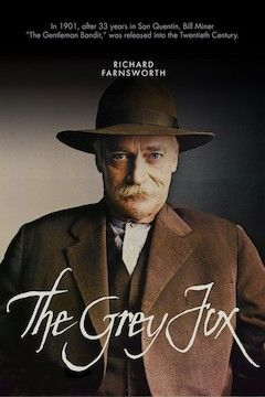 The Grey Fox movie poster.