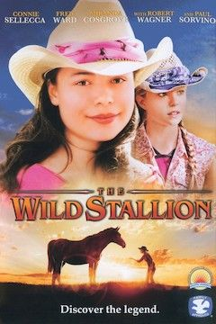 The Wild Stallion movie poster.