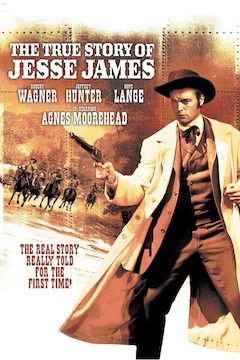 The True Story of Jesse James movie poster.