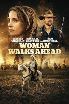 Poster for the movie Woman Walks Ahead