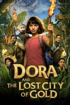 Dora and the Lost City of Gold movie poster.