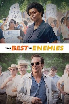 The Best of Enemies movie poster.