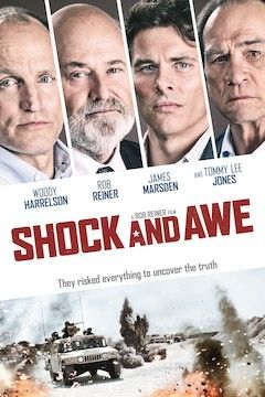 Poster for the movie Shock and Awe
