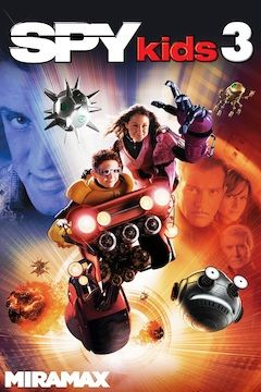 Spy Kids 3D: Game Over movie poster.