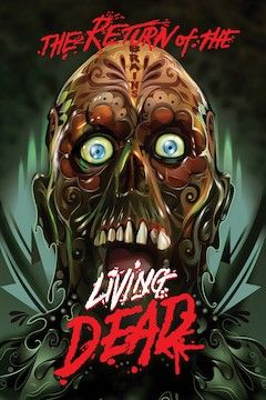 The Return of the Living Dead movie poster.