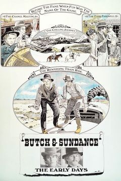 Butch and Sundance: The Early Days movie poster.