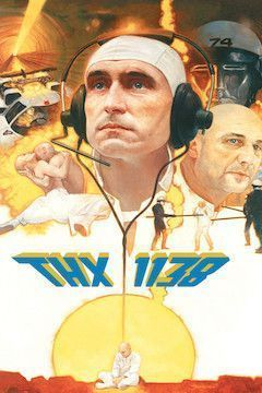 THX 1138 movie poster.